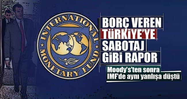IMF'den skandal Türkiye raporu