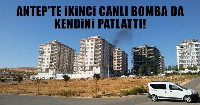 Gaziantep' te ikinci canlı bomba kendini infilak ettirdi