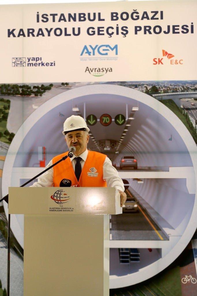 Avrasya Tüneli'nin açılış tarihi belli oldu