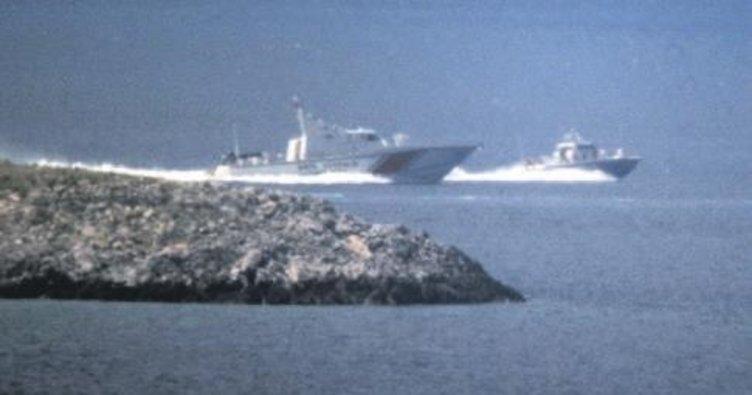 Sahil Güvenlik Yunan botunu kovaladı