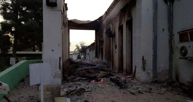Rejim güçleri hastaneye saldırdı
