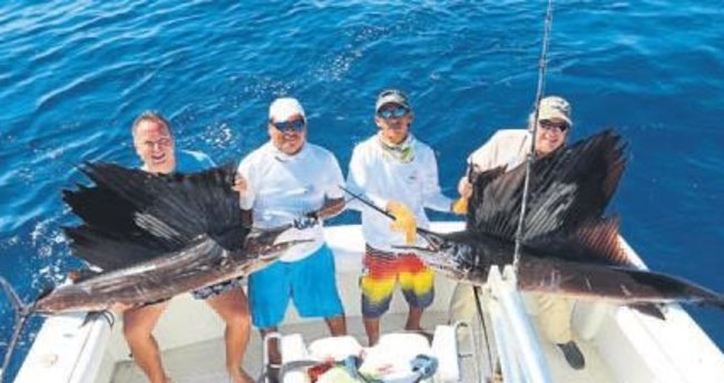 Patronlar yine balık tutacak