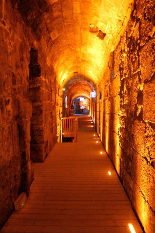 İsrail'in Mescid-i Aksa'daki yeraltı tüneli