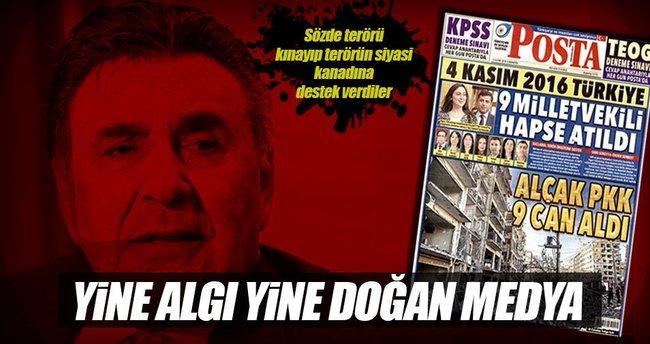Posta HDP'lilere ağlıyor