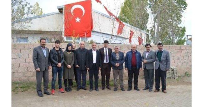 Milletvekili Ilıcalı'dan Şehit Burak Karakoç Köyüne hayırlı olsun ziyareti