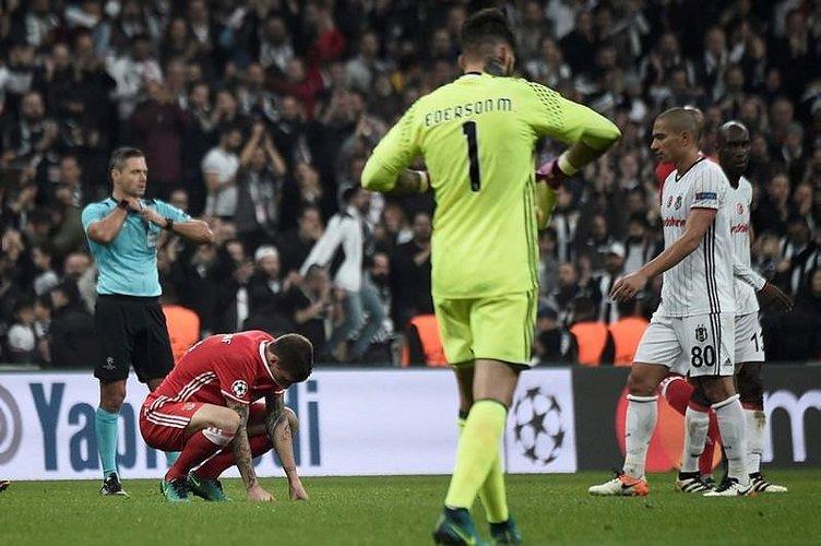 Beşiktaş - Benfica maçı Twitter'ı salladı