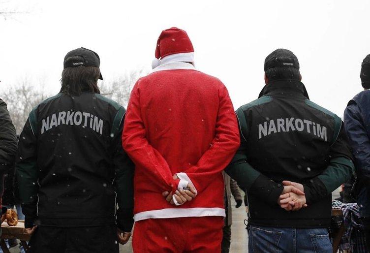 Emniyetten 'Noel Baba'lı önlem