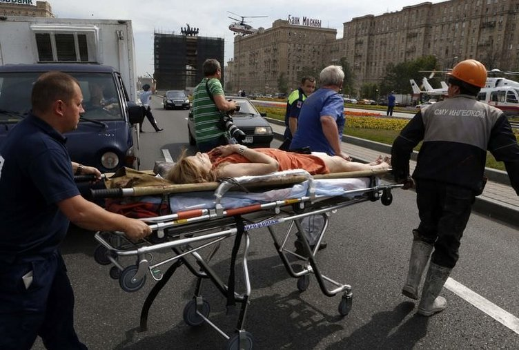 Moskova Metrosu'nda kaza