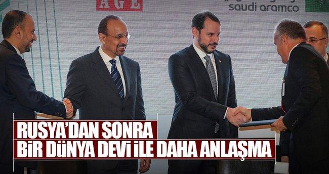 Saudi Aramco 18 Türk şirketi ile anlaşma imzaladı