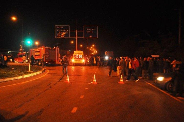 Trafik kazasında 1 şehit