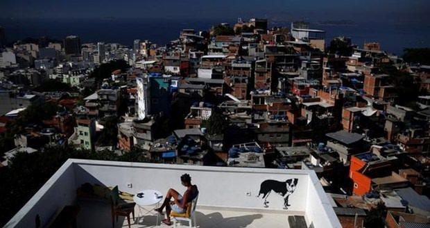 Rio de Janeiro'da gecekondu tatili!