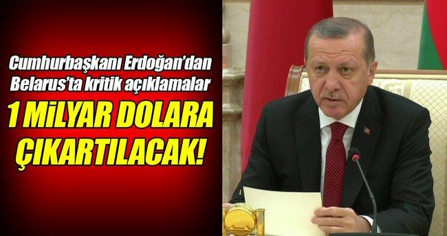Cumhurbaşkanı Erdoğan'dan Belarus'ta kritik açıklamalar!