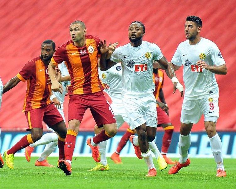 Galatasaray - Eskişehirspor maçı Twitter yorumları