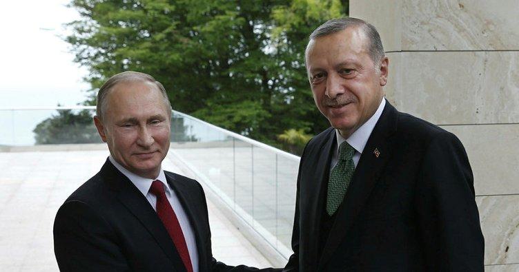 Erdoğan-Putin görüşmesi başladı