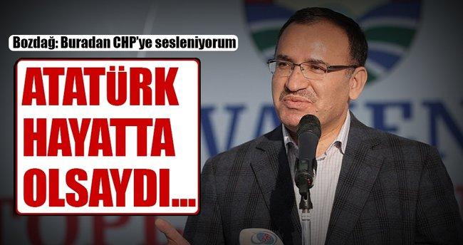 Adalet Bakanı Bozdağ CHP'ye seslendi