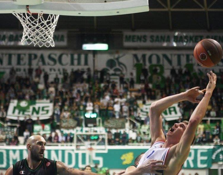 FB Ülker - Montepaschi Siena maçından kareler
