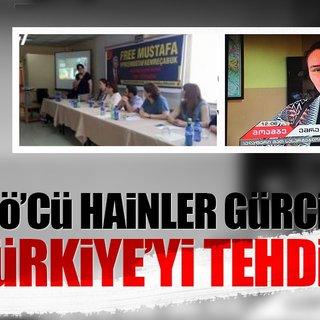 FETÖ'cü hainler Gürcistan'dan Türkiye'yi tehdit etti