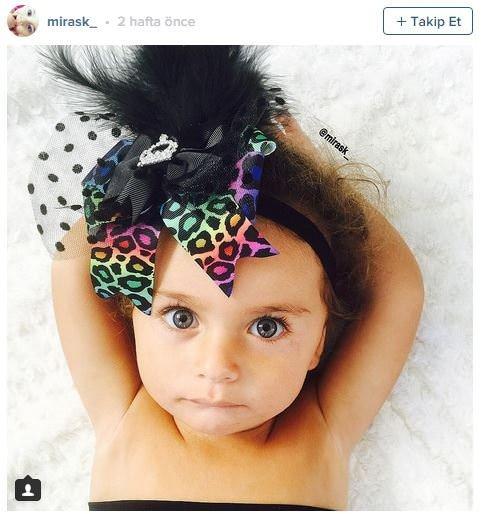 Güzellikleriyle hayran bırakan instagram bebekleri