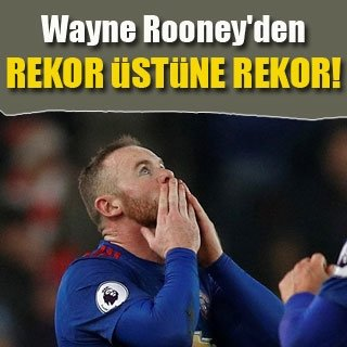 Rooney'den rekora üstüne rekor
