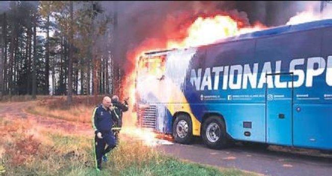 İsveç Milli Takımı'nda yangın şoku