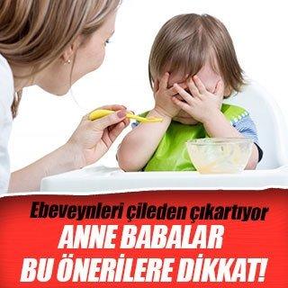 Anne babalar bu önerilere dikkat!