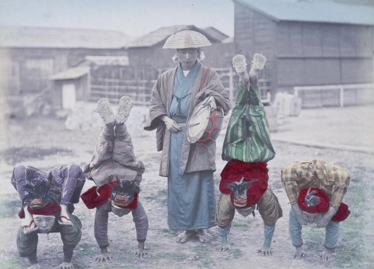 1890'ların Japonya'sı böyleydi
