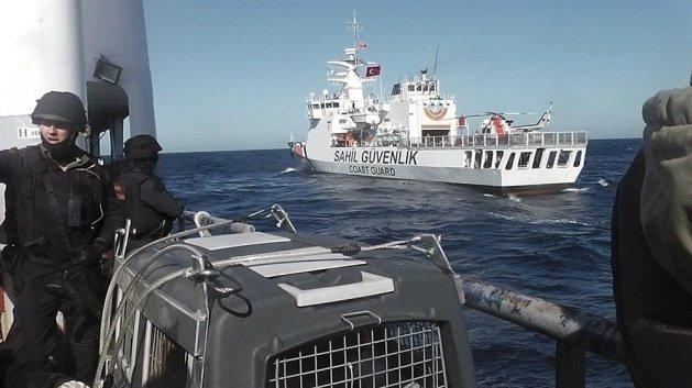 Uluslararası sularda büyük operasyon