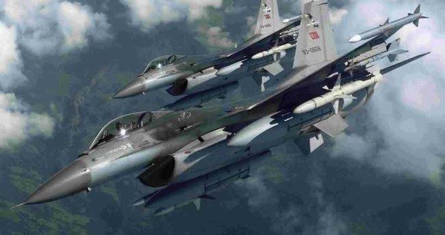 TSK'dan hava harekatı: 12 hedef imha edildi