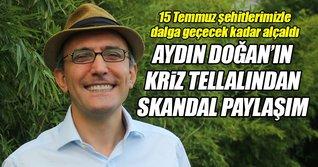 Emin Çapa 15 Temmuz şehitleri ile dalga geçti!