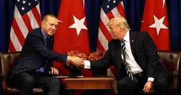 Cumhurbaşkanı Erdoğan ABD'de liderlerle böyle görüştü