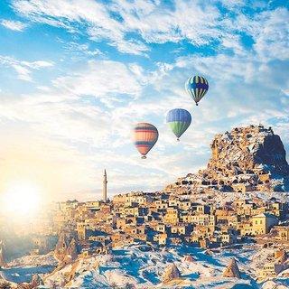Üç Kapadokya günü