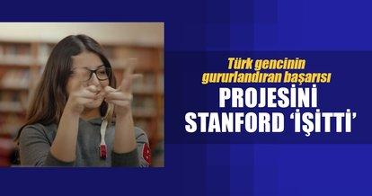 Projesini Stanford 'işitti' tam burslu kabul aldı