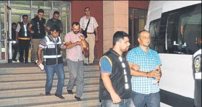 6 öğretmen ile 4 polis tutuklandı