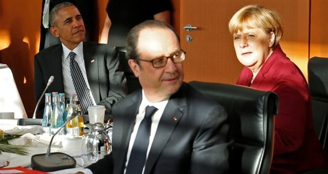 Obama'dan Berlin'de son mini zirve