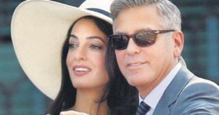Clooney'lerden Suriyeli 3 bin çocuğa okul