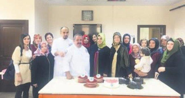 Ustalardan hanımlara pastacılık eğitimi