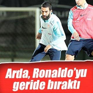 Arda, Ronaldo'yu geride bıraktı