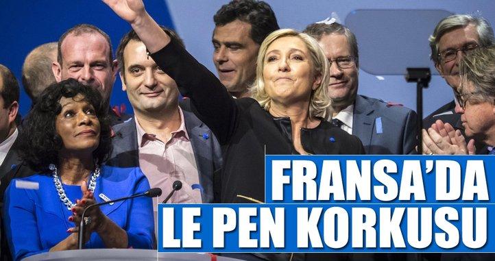 Fransa'yı Le Pen korkusu sardı