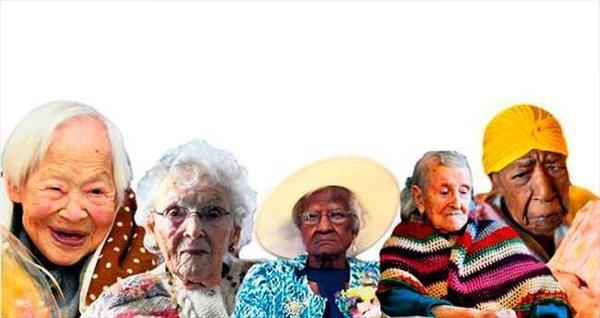 Onlar dünyanın en yaşlı 6 kadını