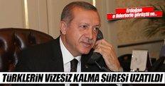 Türklerin Ukrayna'da vizesiz kalma süresi uzatıldı