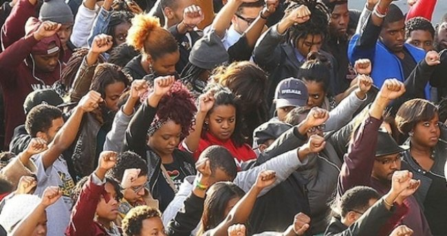 ABD'de boru hattı projesine protesto
