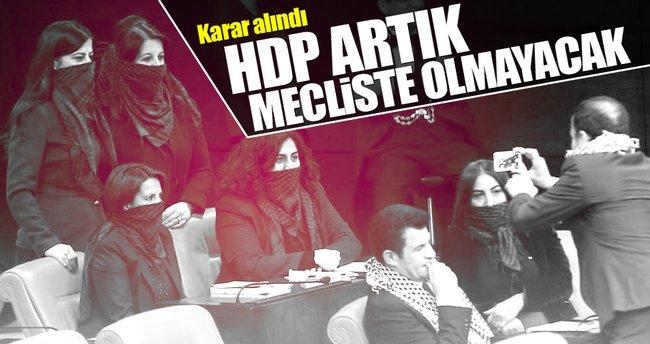 FLAŞ! HDP Meclisten çekildi!