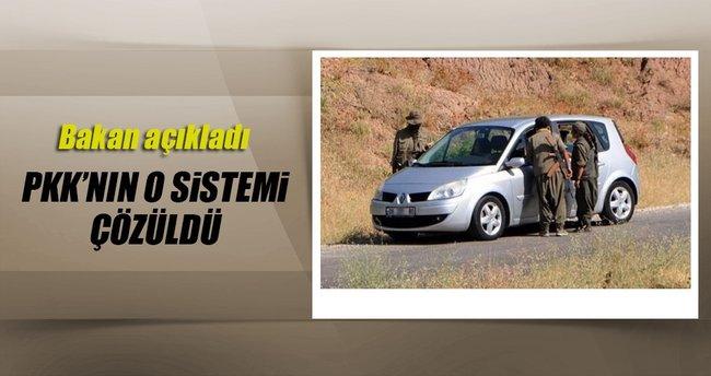 Bakan açıkladı: PKK'nın sistemi çözüldü