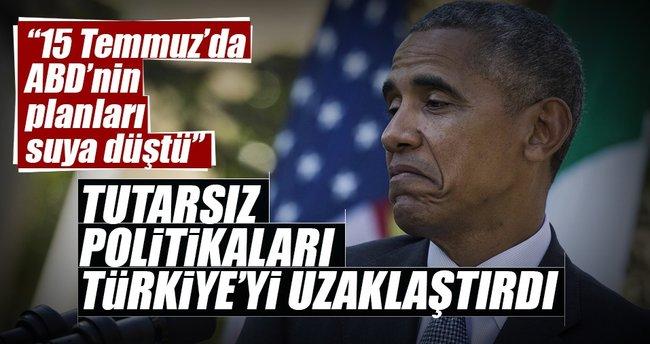 Tutarsız politikaları Türkiye'yi uzaklaştırdı