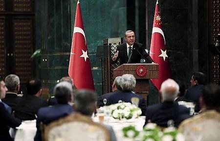 Cumhurbaşkanlığı Sarayı'nda sürpriz iftar