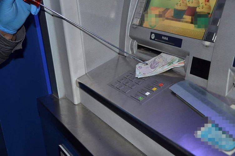 ATM dolandırıcılarına suç üstü