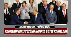 Bakan Işık'tan NATO'da