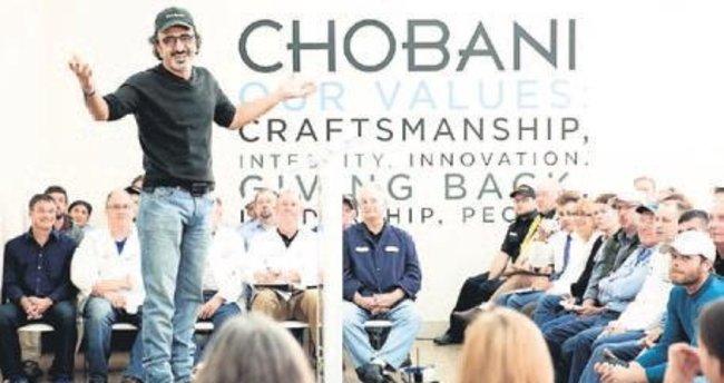 Chobani ABD'nin en iyi işvereni oldu