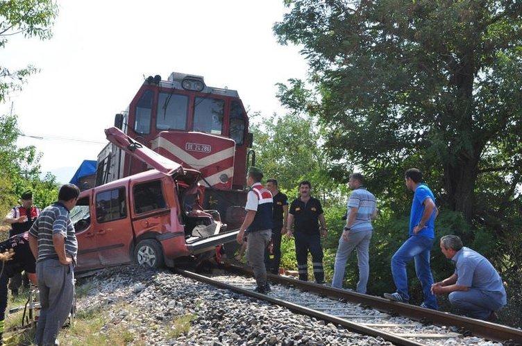 Soma'da feci tren kazası
