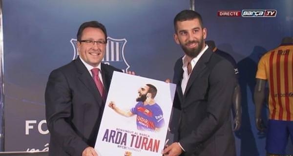 Arda Turan'ın imza töreninden fotoğraflar
